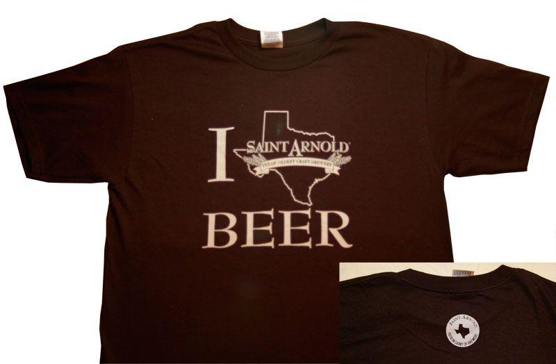 Shirts :: I Texas Beer - Saint Arnold Brewing Company Store http://www.saintarnold.com http://craftbrewhouston.com/