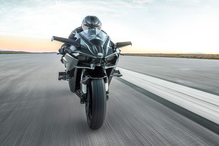 Kawasaki H2r Top Speed New World Record World Records