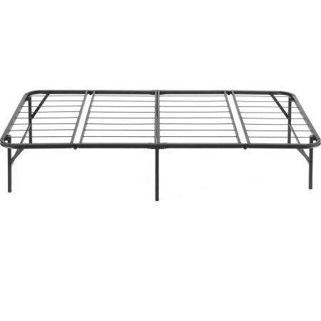 Pragma Simple Base Quad Fold Bed Frame Multiple Sizes Black