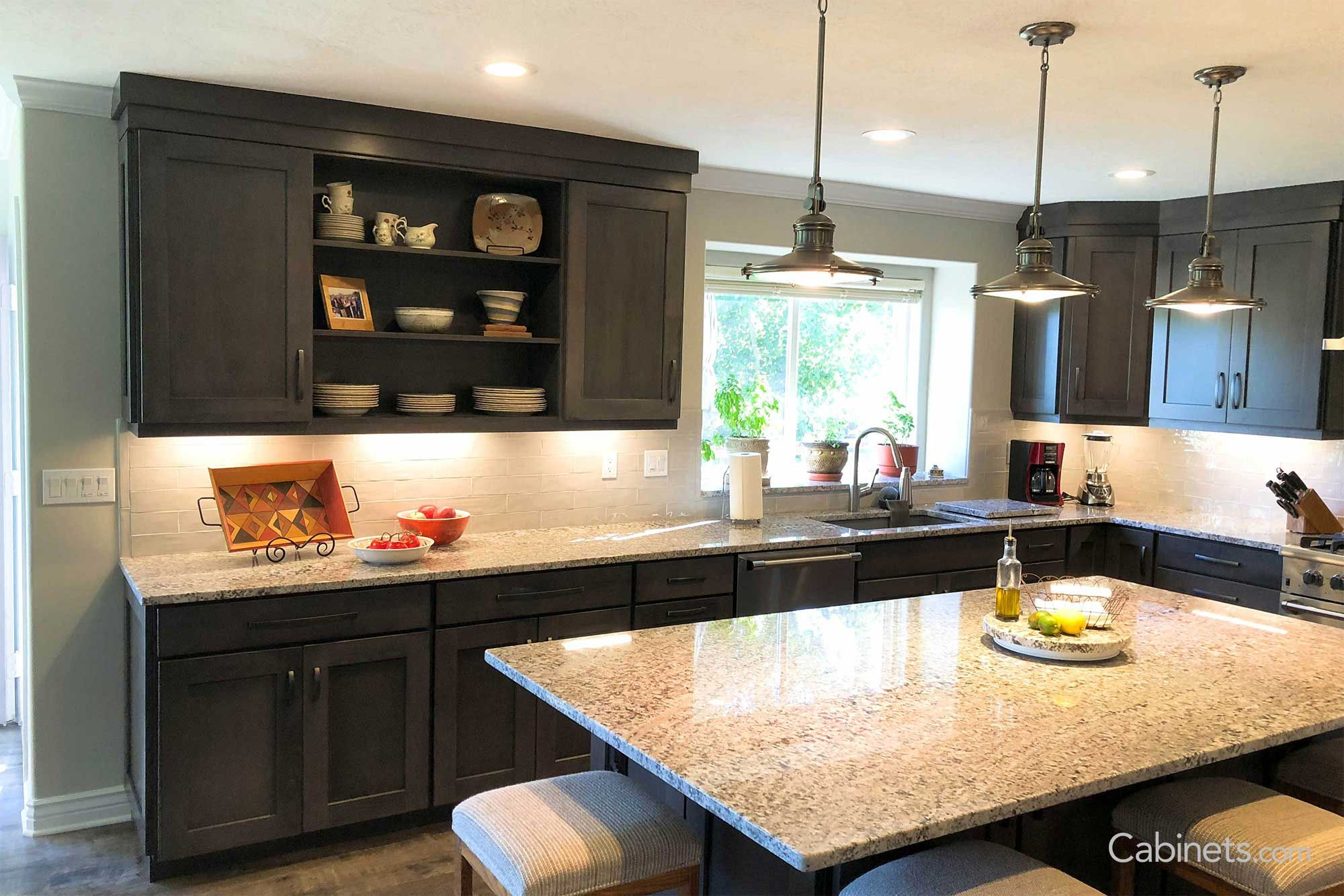 Stacked crown molding | Kitchen inspirations, Rustic ...