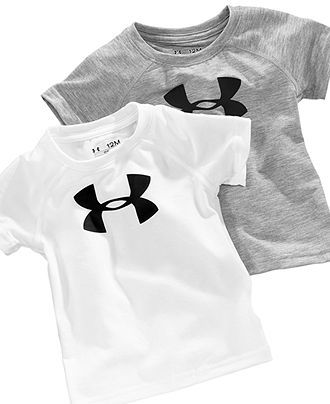 Under Armour Shorts Set 2 PC Outfit Baby Boys Sports Athletic UA Bodysuit Top