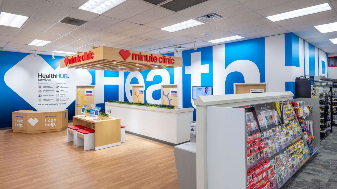Yoga Class While Waiting For Refills Cvs Tests New Health Hubs Health Care Services Health Care Store Plan