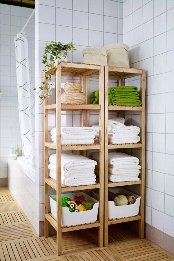 Photo of Die offenen Regale des IKEA MOLGER Regals sorgen dafür, dass alle Ihre …   – …