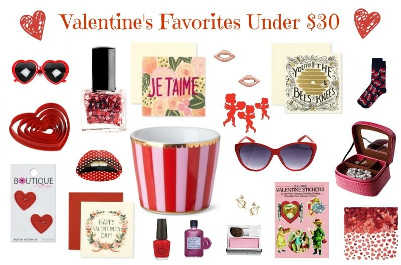 Valentine's Day Gifts under $30 - perfect for Galentines!