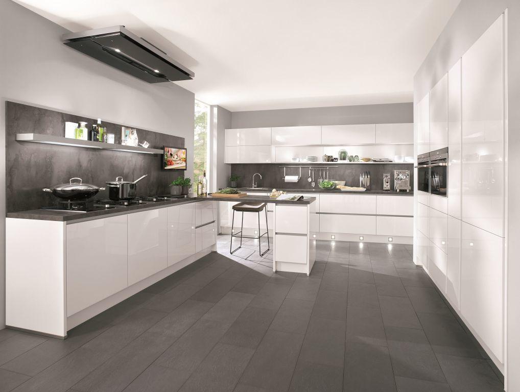 Cuisine Planifiable Lux Sb Meubles Discount Avec Images Cuisine Noir Et Blanc Cuisine Moderne Blanche Cuisine Moderne