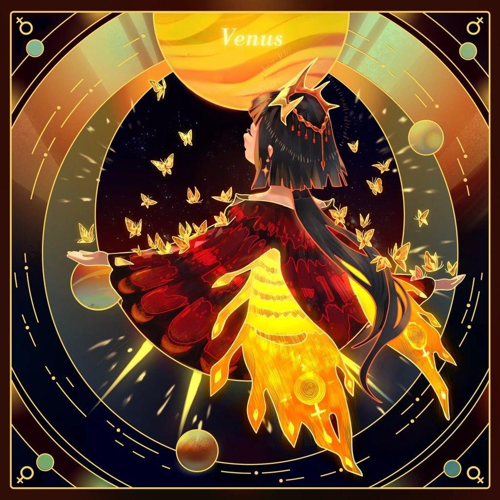 Venus Fondo Dibujos Colores Fondos Cool