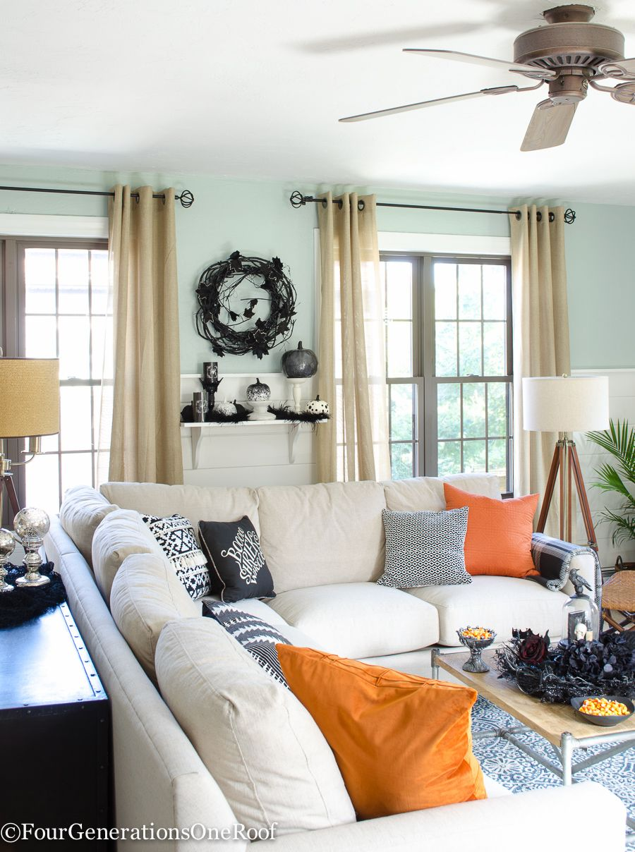 Halloween Ideas in our Home | Halloween ideas, Mantels and Room