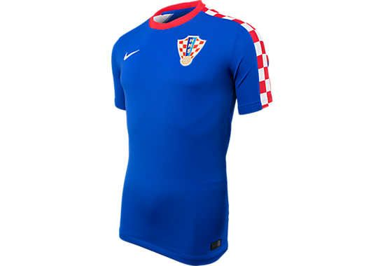 Nike Croatia Away Stadium Jersey World Cup 2014