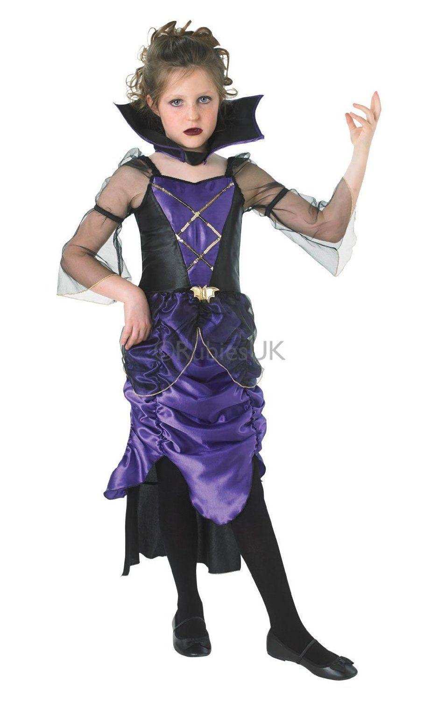GOTHIC Gothic Vampiress Kids Halloween ***082686034555*** ¢17.900 ...