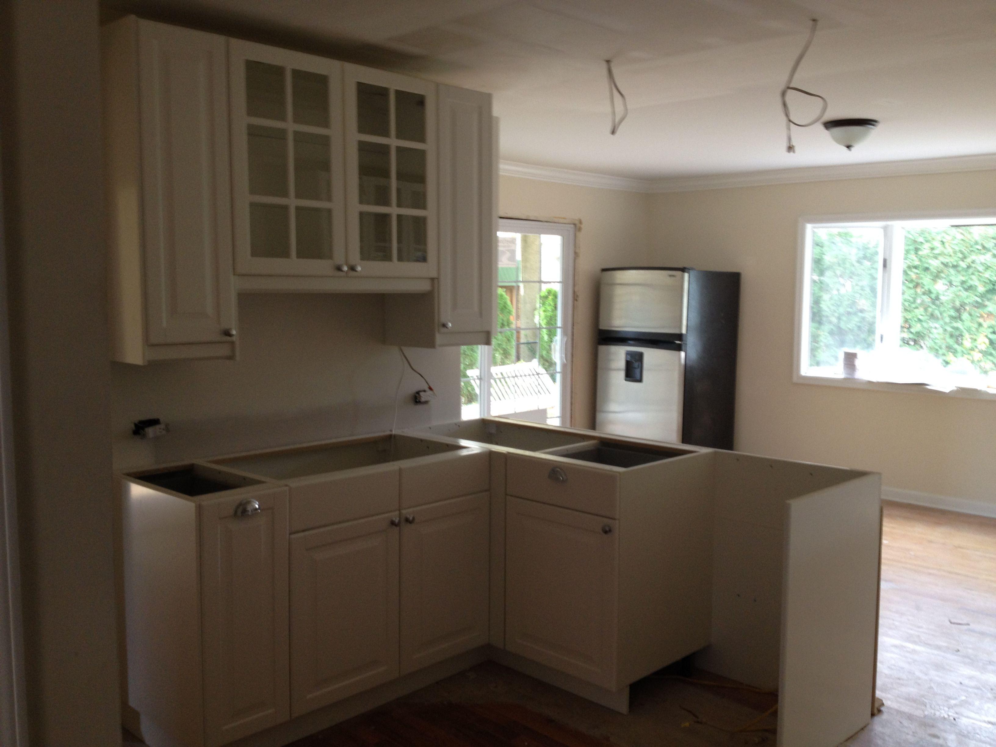 Glen Rock Nj Ikea Kitchen Cabinet Install Part 2 Kitchen Cabinets Kitchen Installing Cabinets