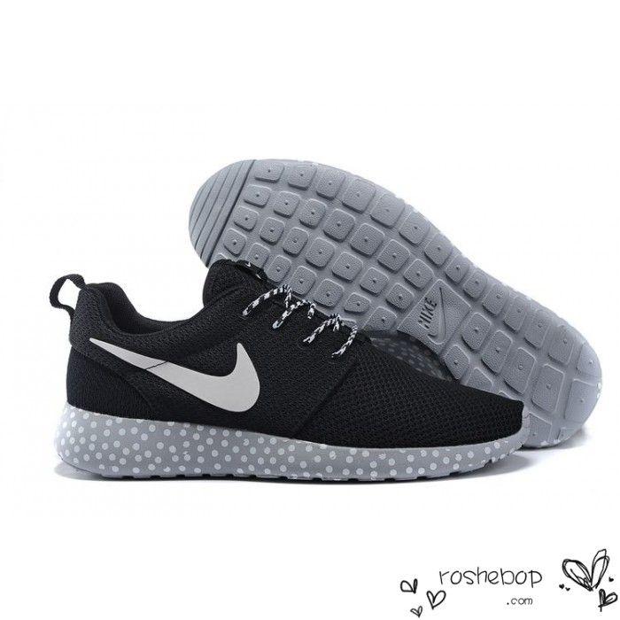 abde2b32bfea6 ... Black · Nike Roshe Run Mesh White Black Polka Dot .