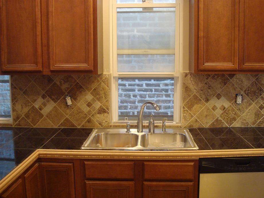 Granite Tile Countertop For The Home Pinterest