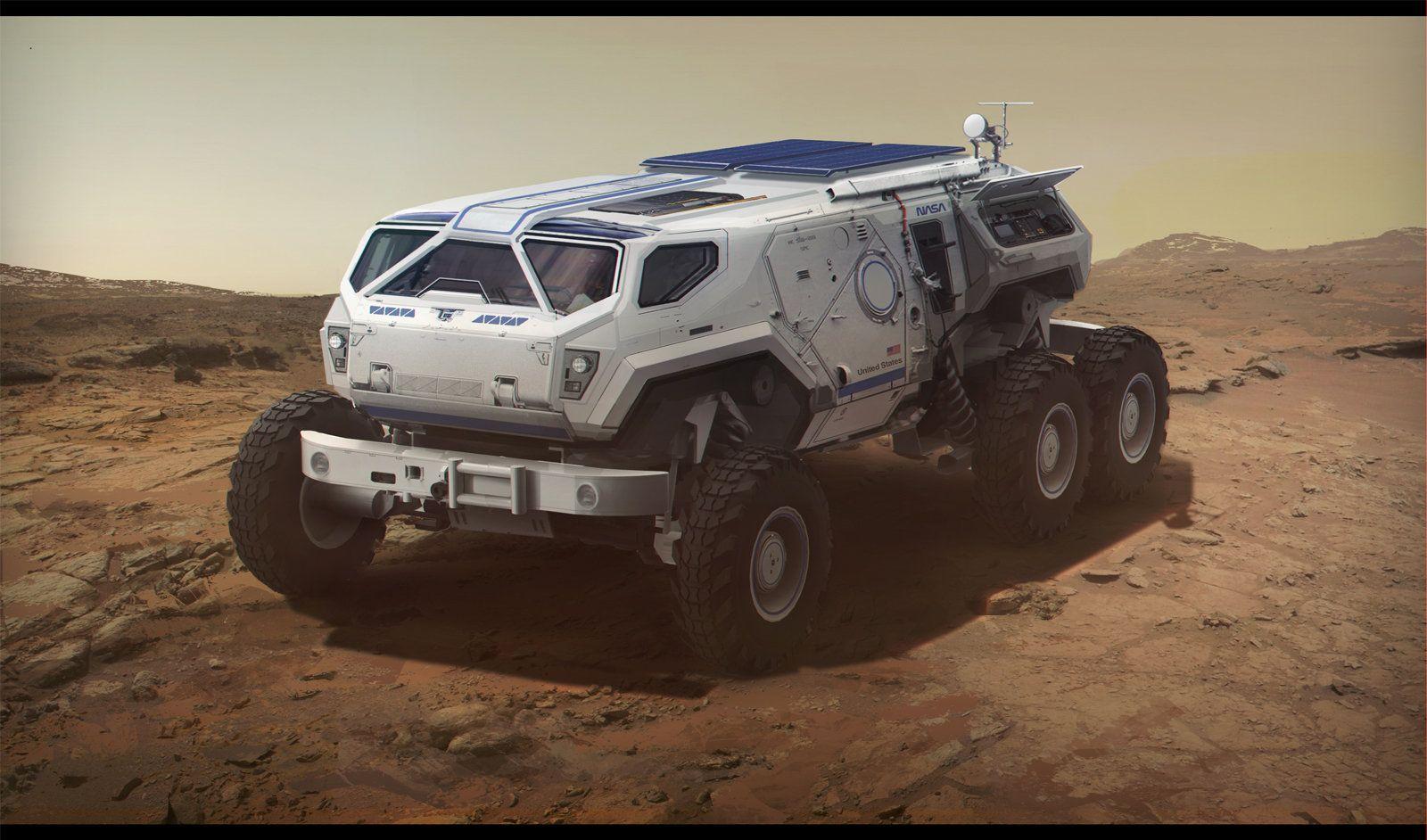 Mars Rover, Sam Brown on ArtStation at http://www ...