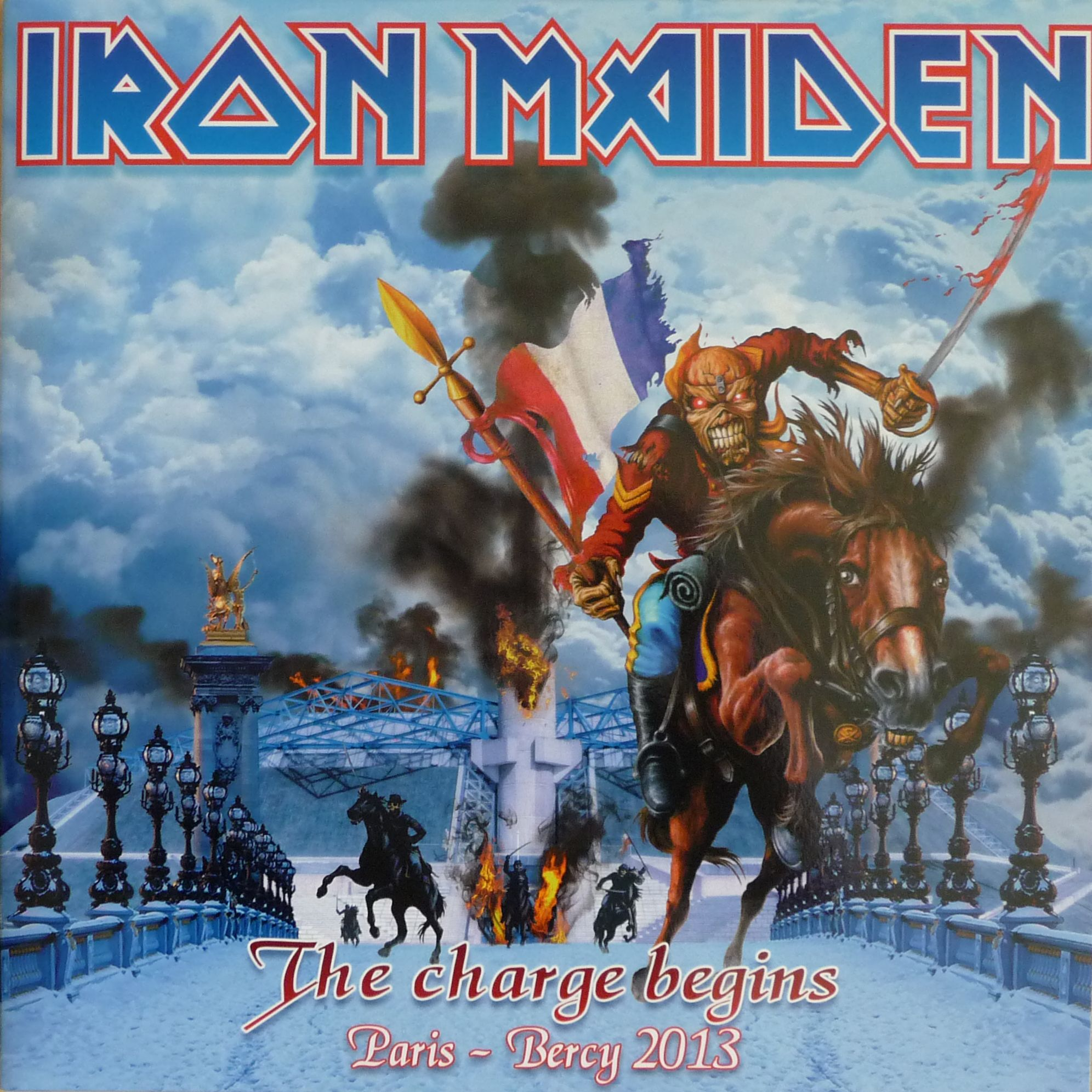 IRON MAIDEN - The Charge Begins: Live In Paris 2013