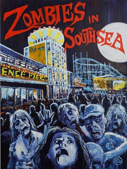 Zombies in Southsea by Simon Whitcomb