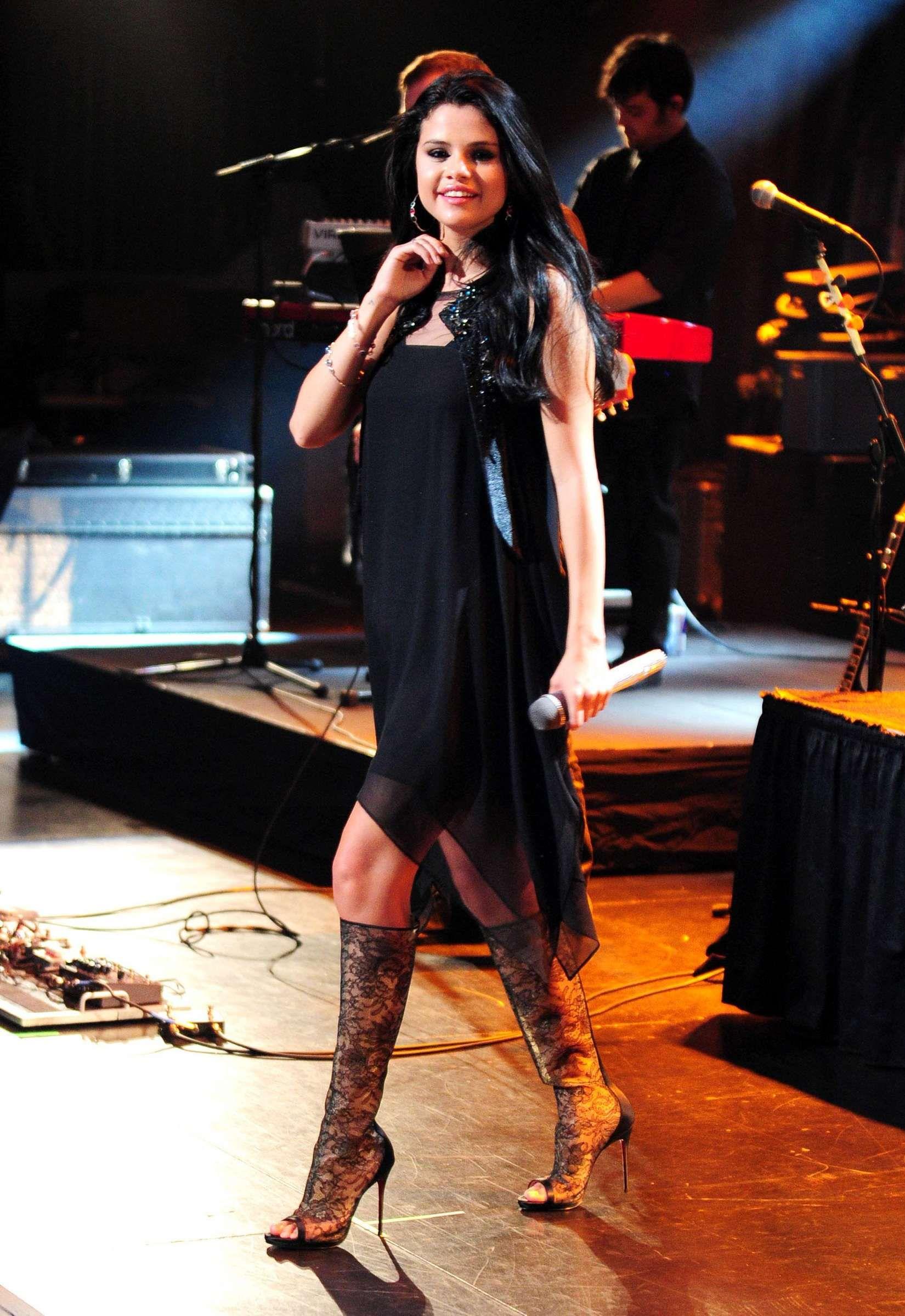 Selena Gomez Concert Boots