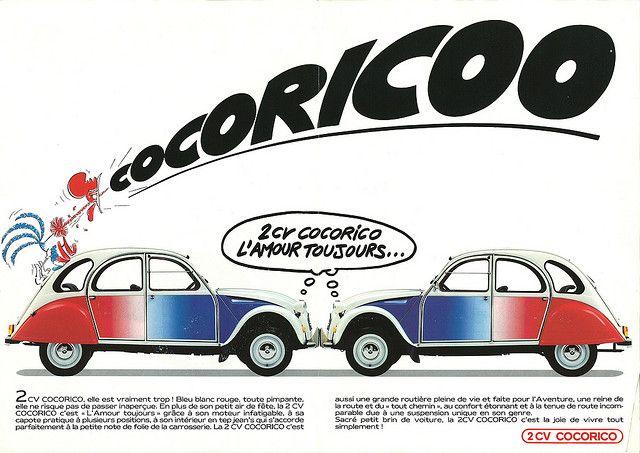 2cv Cocorico Citroen Citroen Ds Citroen 2cv