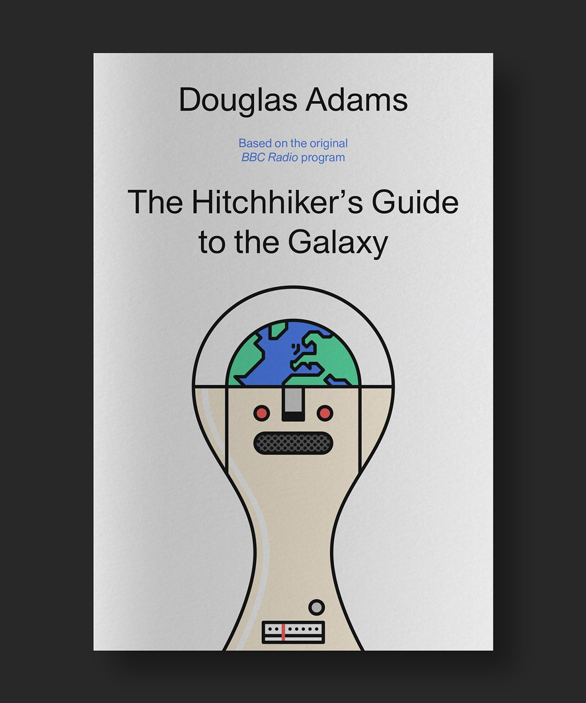 Tribute to 'The Hitchhiker's Guide to the Galaxy' on Behance
