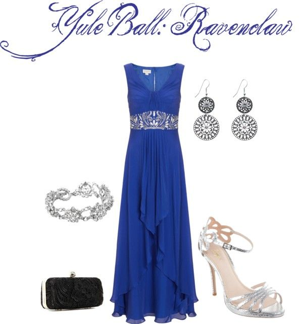 Classy Ravenclaw Yule Ball... by me on Polyvore | Dress Up ...
