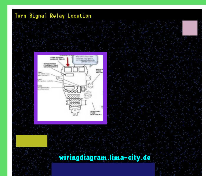 Turn signal relay location Wiring Diagram 175419 Amazing Wiring
