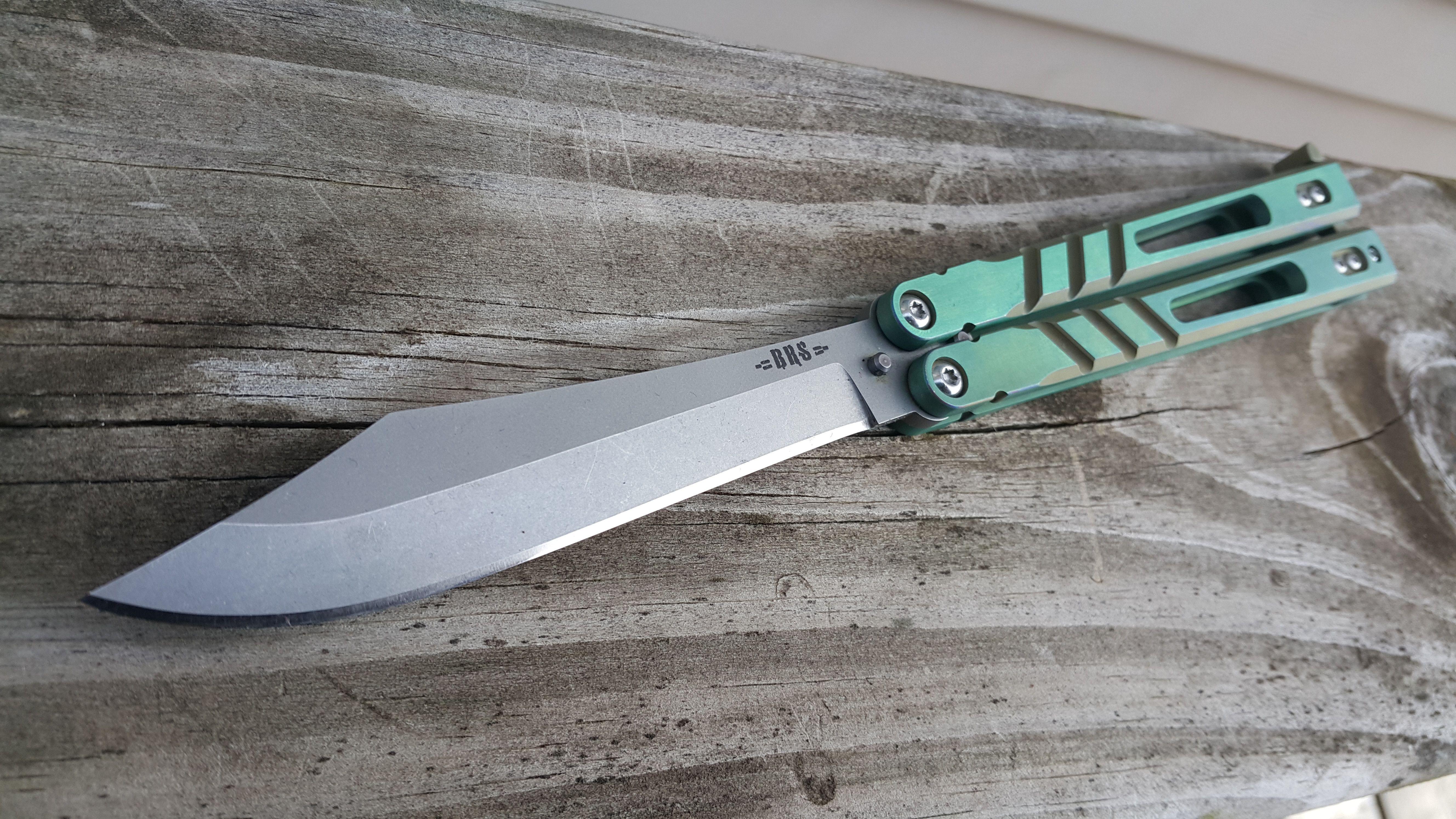 BRS Alpha Beast 3.0 Butterfly knife, Knife, Multitool