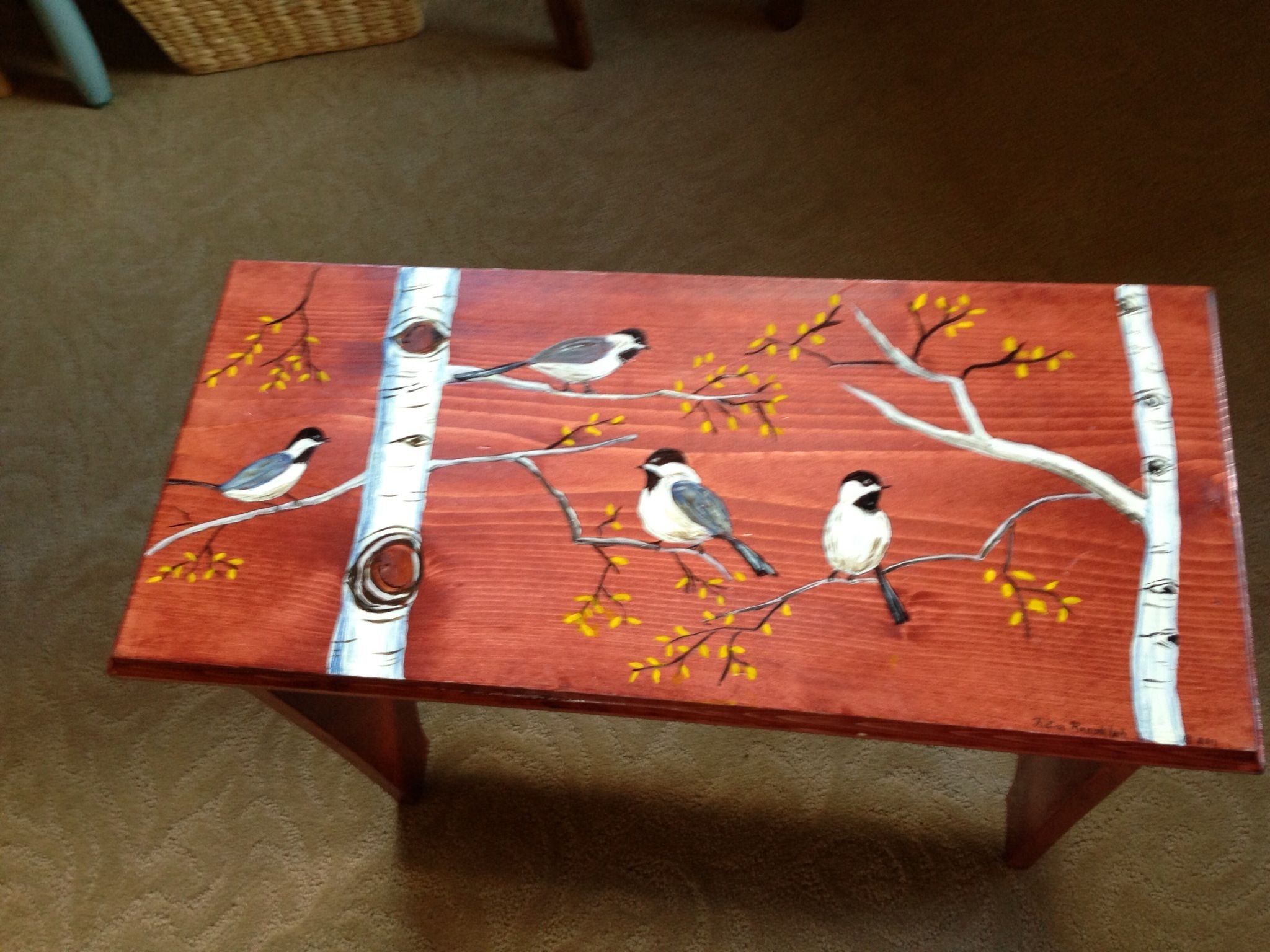 Painted Furniture Ideas Painted Bench Rita's Art  Pinterest  Painted Benches Paint