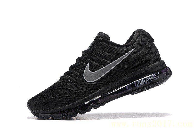 Nike Air Max 2017 Black Mesh Shoes in 2020 | Nike air max
