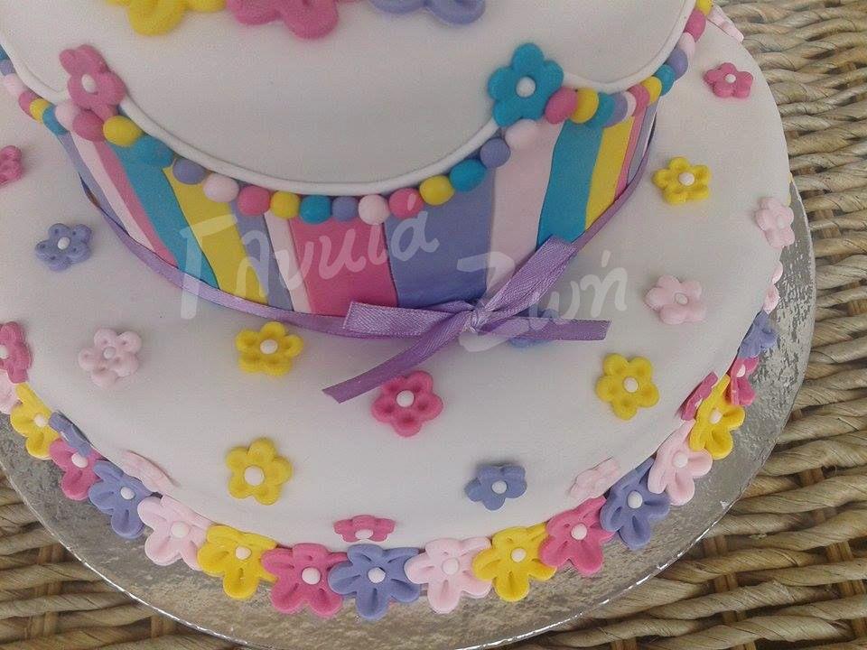 Magnificent Spring Flowers Cake Cake Cake Decorating Desserts Funny Birthday Cards Online Elaedamsfinfo