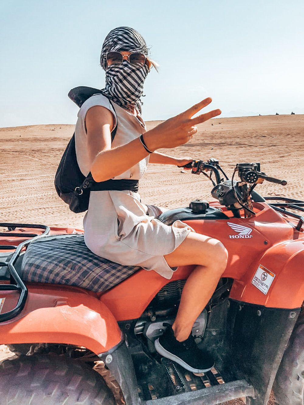 Quad Bike Safari In Egypt Quadbike Desertrace Desert Safari