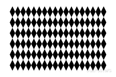 Black And White Diamond Pattern As Background Art Haraldmuc Allposters Com Diamond Pattern Pattern Black And White