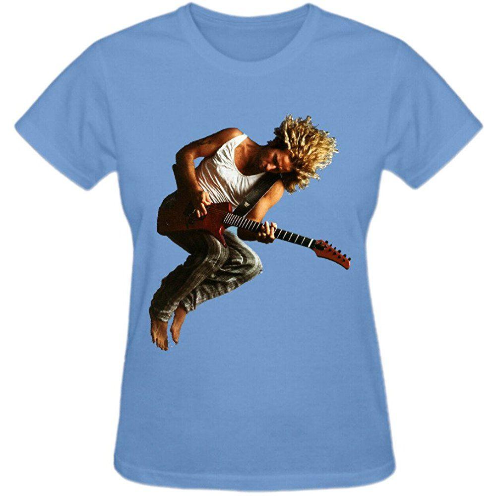 Abover Sammy Hagar I Never Said Goodbye Design Your Own T Shirts Women Round Neck Womens Shirts Ladies Tee Shirts Custom Tee Shirts