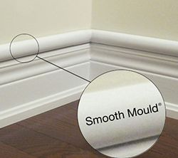latching cable raceway for hiding wires indoors diy projects baseboards cord cover hide cables. Black Bedroom Furniture Sets. Home Design Ideas