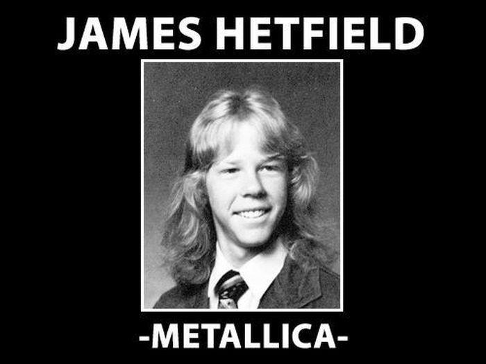 Funny: High school pics of rock stars