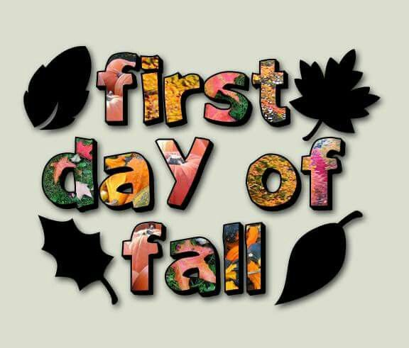 First day of fall 2015