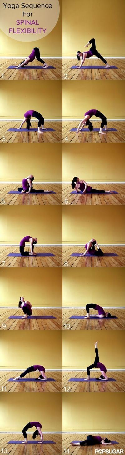 Yoga Sequence for Spinal Flexibility