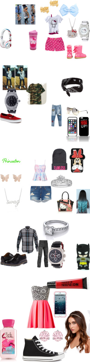 a mindless behavior love  story by baby-dei-2-bomb-4-u on Polyvore featuring Hello Kitty, Victoria's Secret PINK, Volcom, Reebok, Tiffany & Co., Hershey's, plus size clothing, UGG Australia, Noir Jewelry and Vans