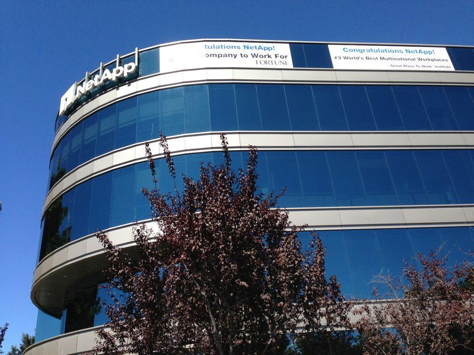 NetApp HQ en Sunnyvale, CA
