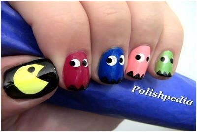30 cool nail designs easily painted at home cool easy
