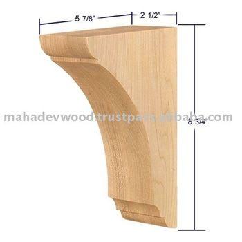 Best Price Wood Bracket DesignDecorative Corbels