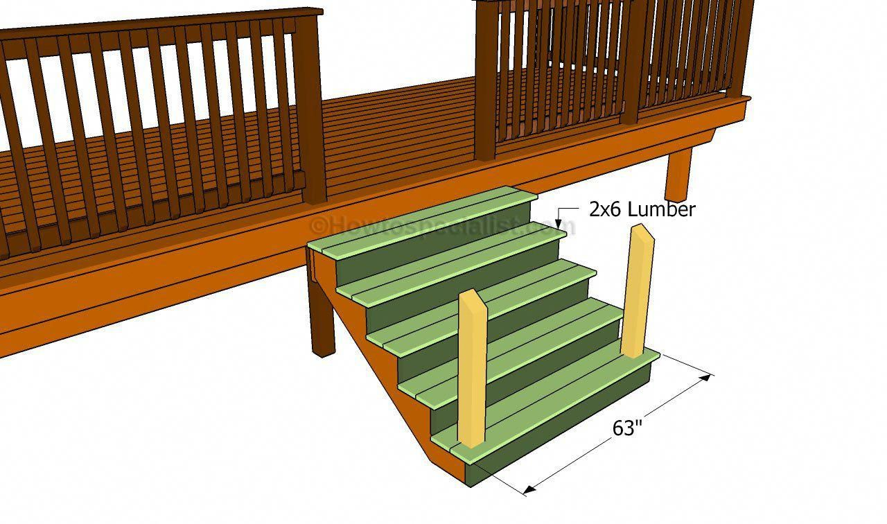 How to build a front porch howtospecialist how to build step by