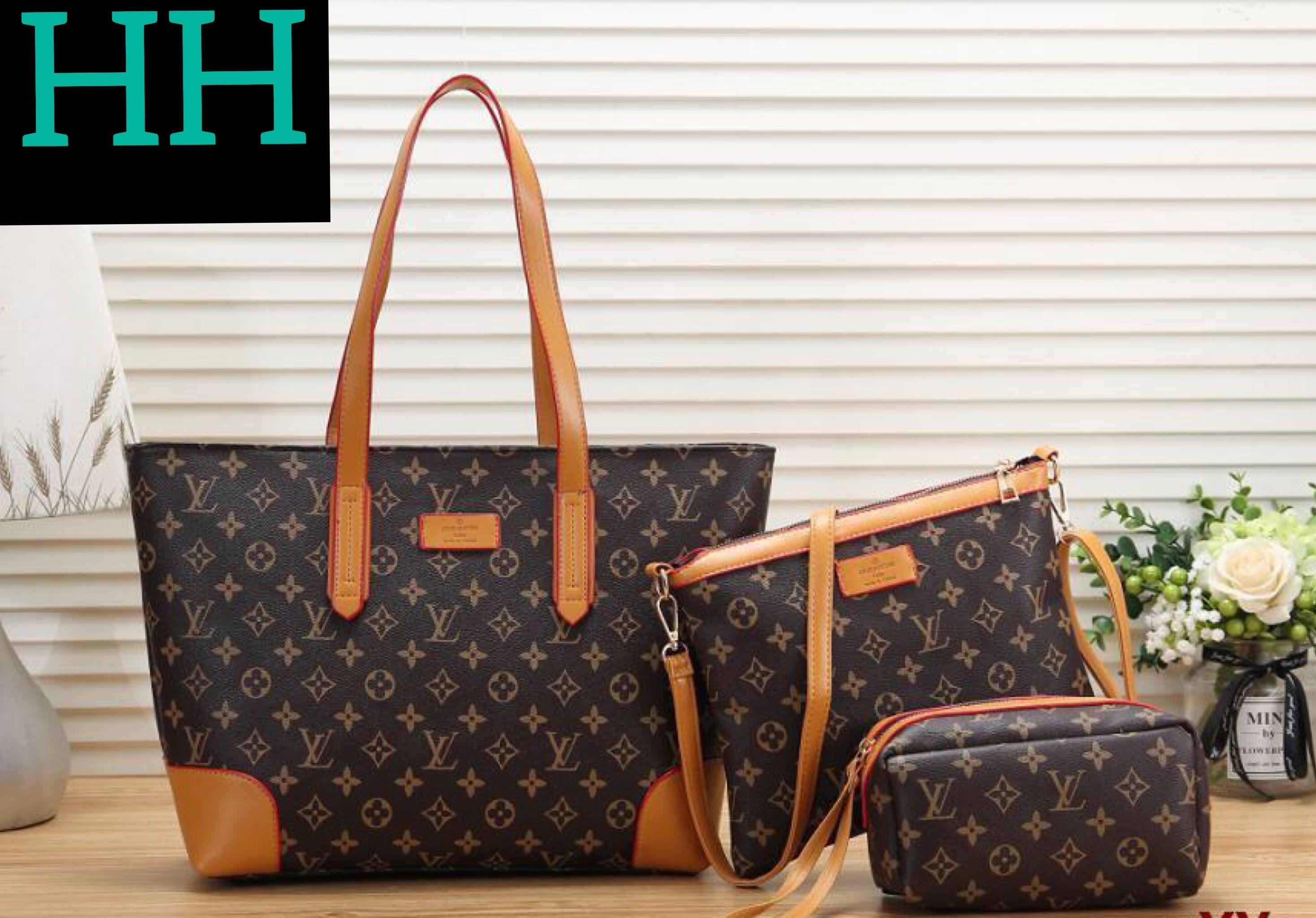 Double H Designer LV Handbag Set in 2020 | Lv handbags, Bags
