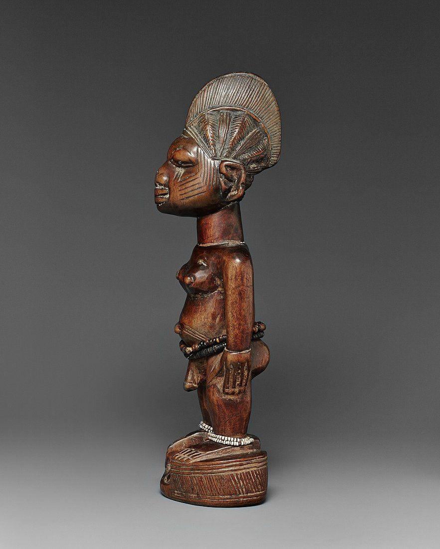 Yoruba Ere Ibeji (Twin Figure), Ekiti - Efon Alaiye, Nigeria