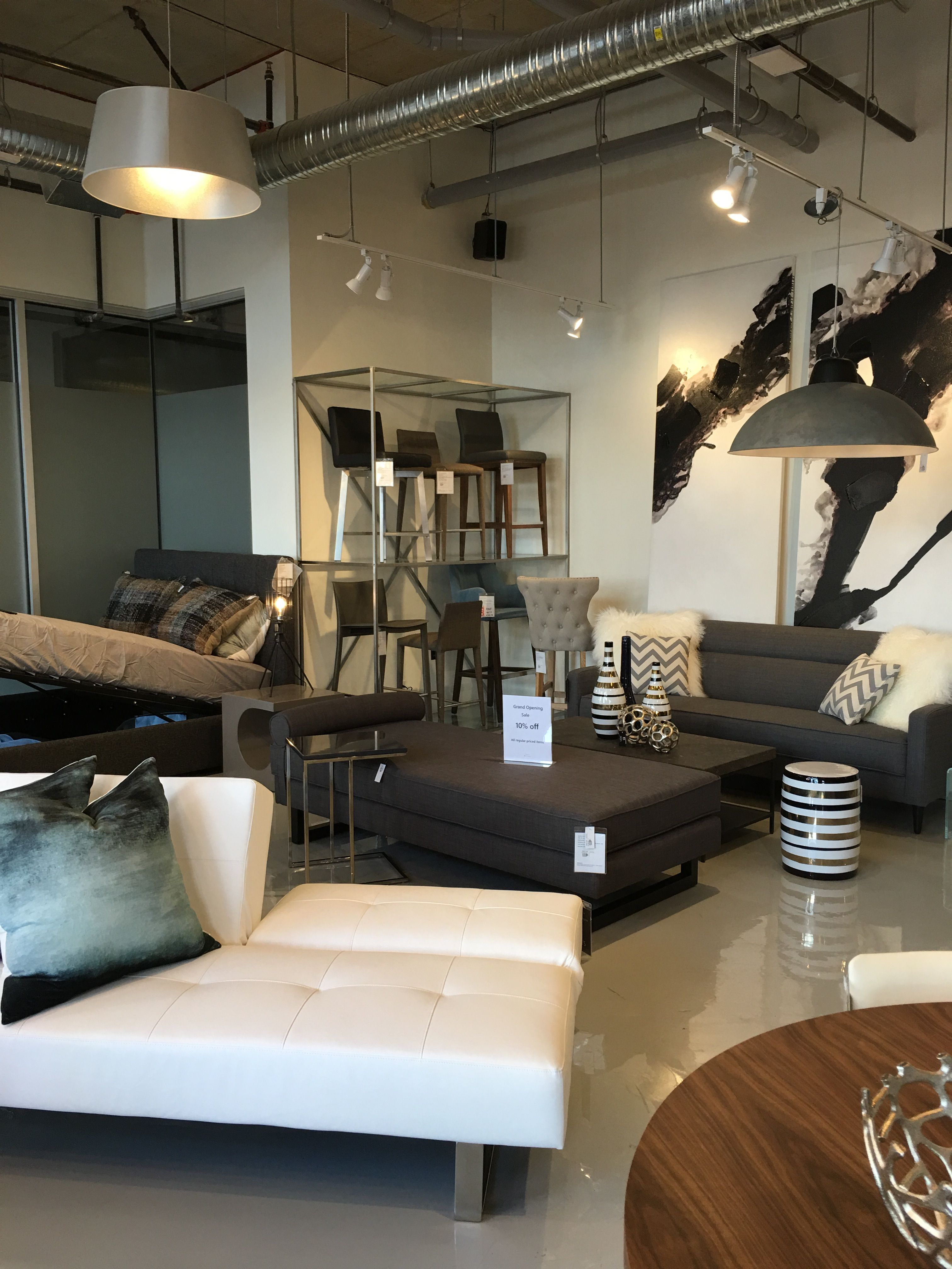 Photo Of Furniture Store In Victoria Bc I Like The Colors White With Grays And Muted Colors Furniture Furniture Store Dental Office Design