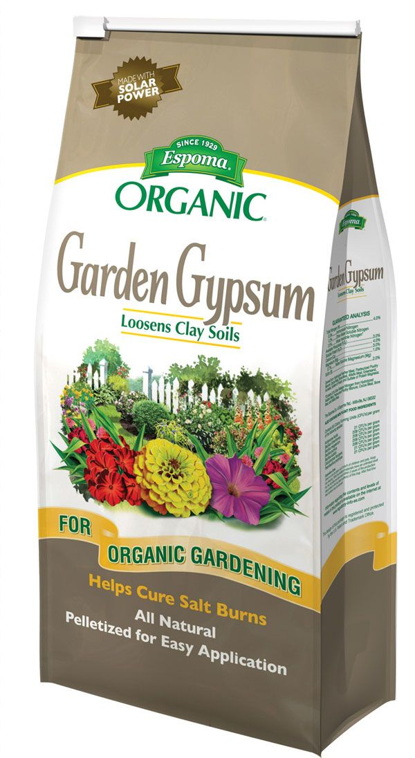 Why Apply Garden Gypsum Now Organic Soil Organic Nutrients