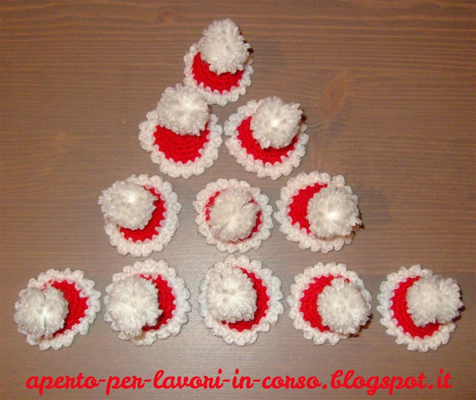 Lavoretti Per Natale All Uncinetto Ti18 Regardsdefemmes