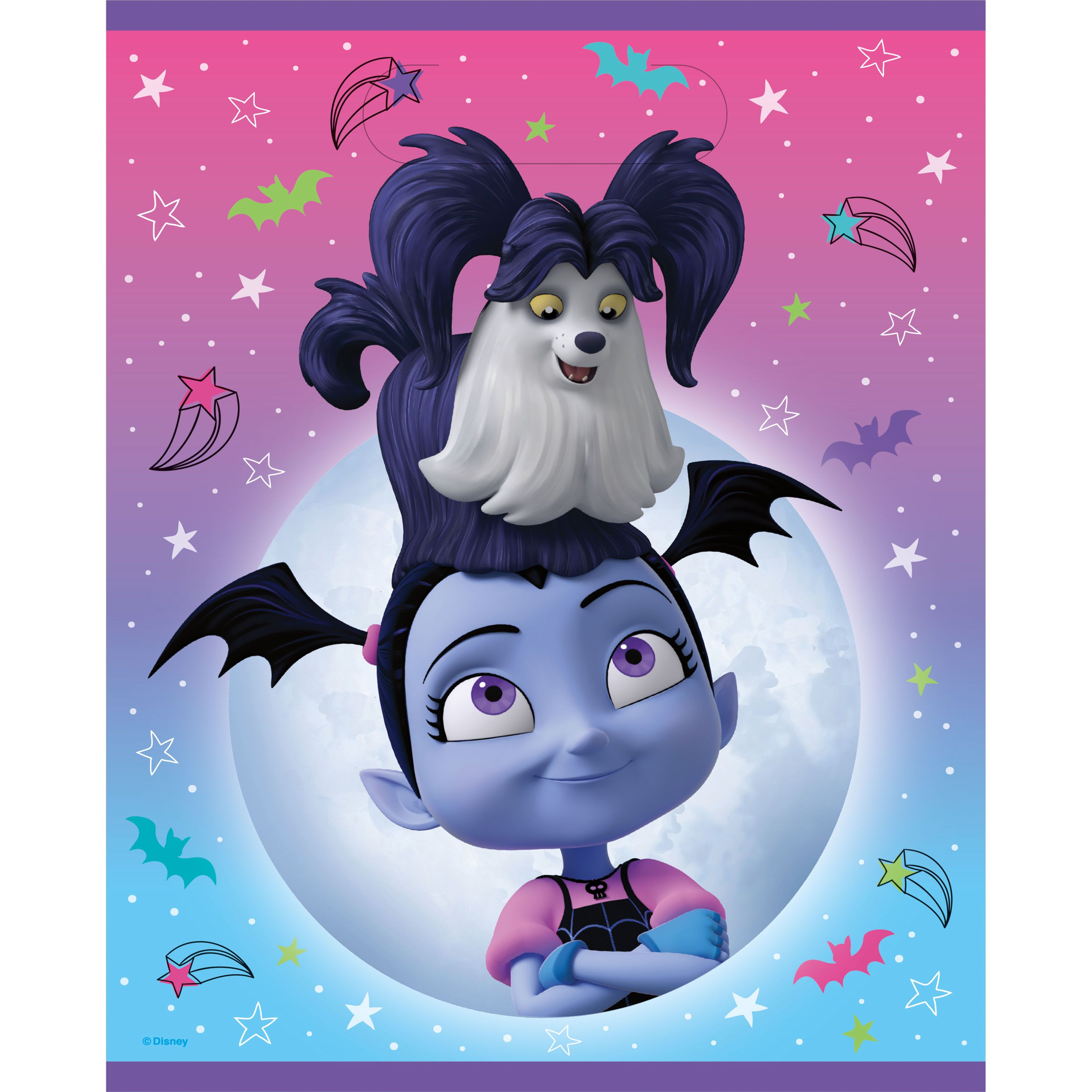 Vampirina Goodie Bags 8ct In 2020 Themed Party Supplies Party Themes 2nd Birthday Parties