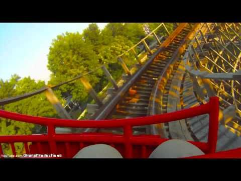 American Thunder At Six Flags St Louis Six Flags Roller Coaster Pov