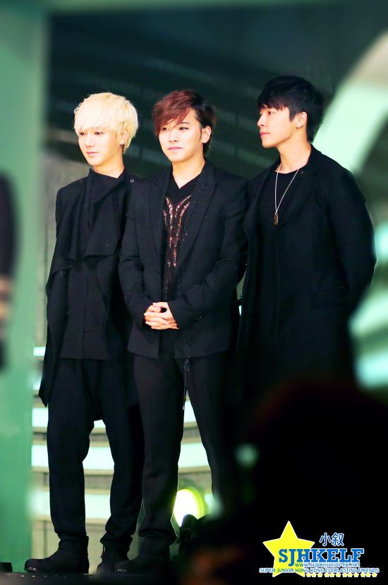 Yesung, Sungmin & Donghae.