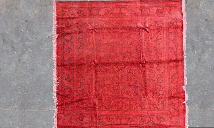 Roter Orient Teppich By Kiskan Process Hamburg, Orientteppich ... Wohnzimmer Modern Vintage