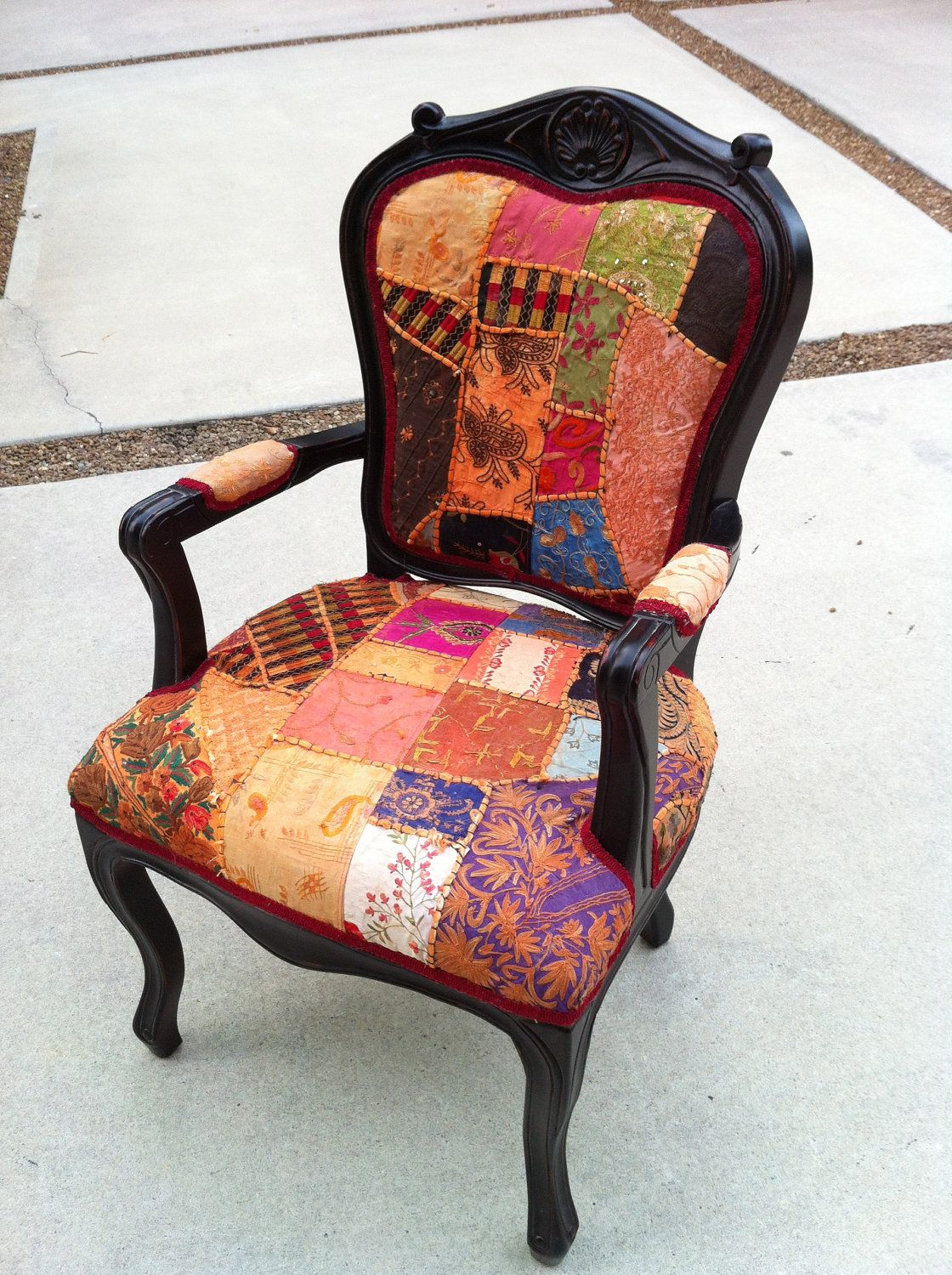 Fab Boho Chic Accent Arm Chair From LemonAIDER On Etsy Come Sit A Spell P